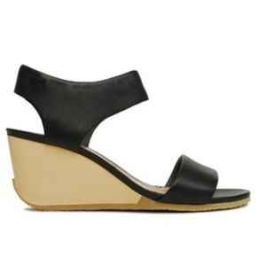 Camper Laura Wedge Leather Sandals